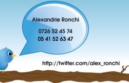 Cartes de visite personnelle 1108 - 24