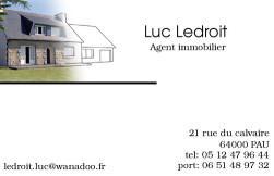 Cartes De Visite Agence Immobiliere 131