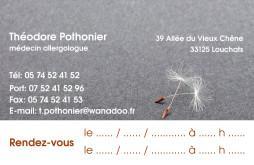 Cartes de visite médecin 1385 - 9