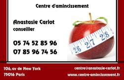 Cartes de visite amincissement 780 - 16