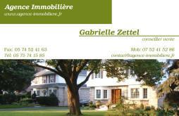Cartes de visite agence immobilière 1499 - 60