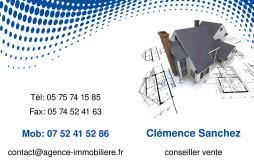Cartes De Visite Agence Immobiliere 1511