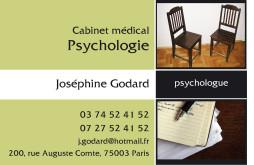 Cartes de visite psychologue 1241 - 13
