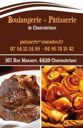 Cartes De Visite Boulangerie Patisserie 1299