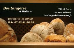 Cartes De Visite Boulangerie Patisserie 1262