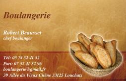 Cartes de visite boulangerie patisserie 1265 - 37