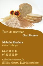 Cartes de visite boulangerie patisserie 1277 - 12