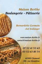 Cartes de visite boulangerie patisserie 1282 - 37