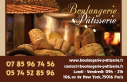 Cartes De Visite Boulangerie Patisserie 1287
