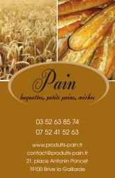 Cartes de visite boulangerie patisserie 1294 - 66