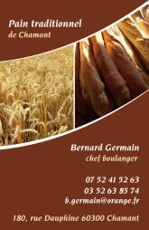 Cartes de visite boulangerie patisserie 1301 - 25