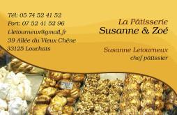 Cartes De Visite Boulangerie Patisserie 1291