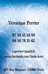 Cartes de visite personnelle 1095 - 36