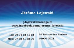 Cartes de visite personnelle 1097 - 83