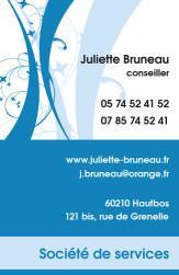 Cartes de visite personnelle 1121 - 89