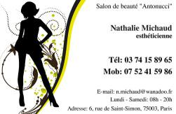 Cartes De Visite Esthticienne