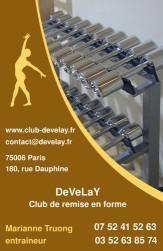 Cartes de visite sport 913 - 24