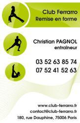 Cartes De Visite Sport 914
