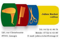 Cartes de visite coiffeur 754 - 61