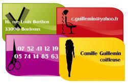 Cartes de visite coiffeur 760 - 67