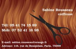 Cartes de visite coiffeur 765 - 137