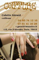 Cartes de visite coiffeur 916 - 36