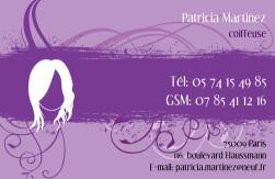 Cartes De Visite Coiffeur 925