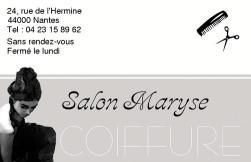 Cartes de visite coiffeur 24 - 148