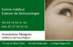 Cartes de visite médecin 1373 - 13