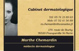 Cartes de visite médecin 1378 - 11
