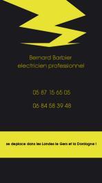 Cartes de visite électricien 211 - 45