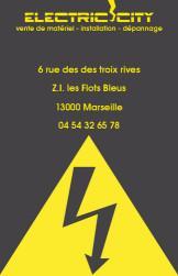 Cartes de visite électricien 423 - 229