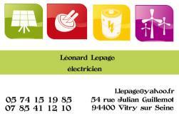 Cartes De Visite Lectricien 715