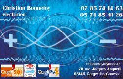 Cartes de visite électricien 724 - 143