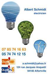 Cartes de visite électricien 728 - 93