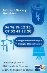 Cartes de visite électricien 729 - 26