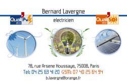 Cartes de visite électricien 730 - 139