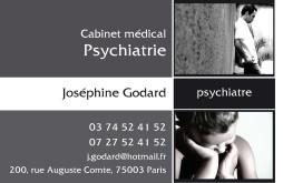 Cartes de visite psychologue 1250 - 12