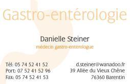 Cartes de visite médecin 1409 - 43