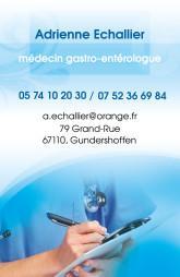Cartes de visite médecin 1413 - 13