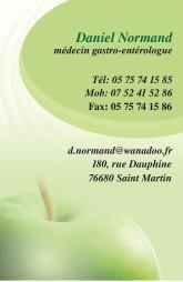 Cartes de visite médecin 1416 - 11