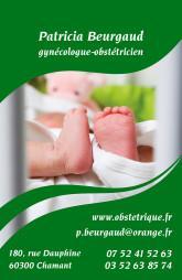 Cartes de visite médecin 1312 - 77