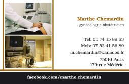 Cartes de visite médecin 1315 - 22