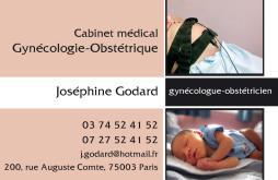 Cartes de visite médecin 1317 - 37