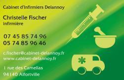 Cartes de visite infirmier 692 - 198