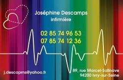 Cartes de visite infirmier 695 - 293