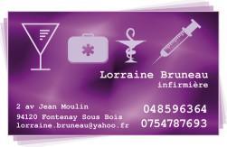 Cartes de visite infirmier 697 - 367