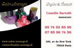 Cartes De Visite Manucure 874