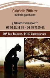 Cartes de visite psychologue 1251 - 5