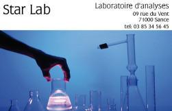 Cartes de visite laboratoire 462 - 47